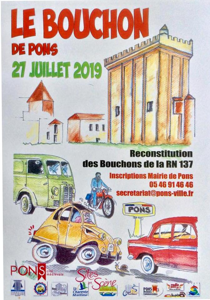 Le Bouchon de Pons - juillet 2019