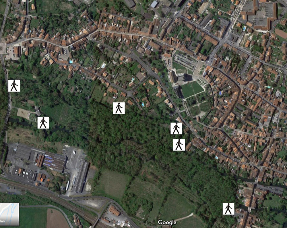 Pons - Les bords de Seugne accès