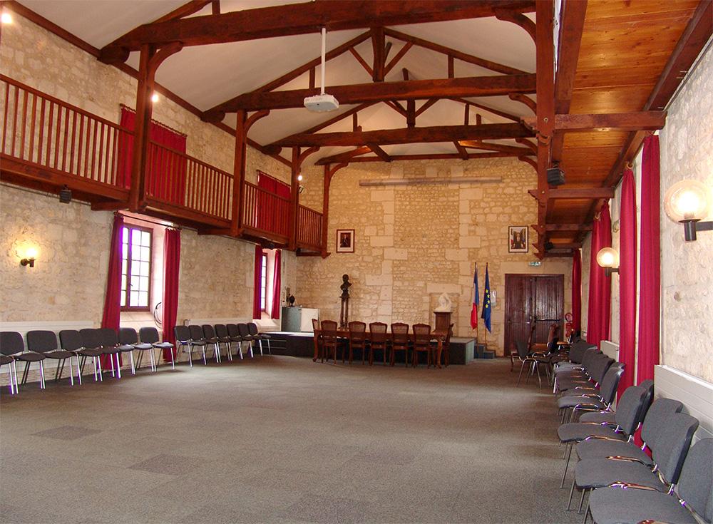 Ville de Pons - Auditorium
