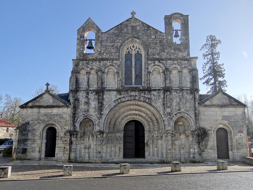 Ville de Pons - Eglise Saint Vivien