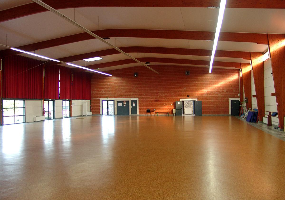 Ville de Pons - Salle polyvalente