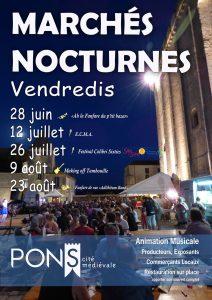 2019 Pons MARCHES NOCTURNES