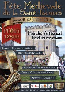 Fête médiévale de la Saint Jacques 2019 - Pons