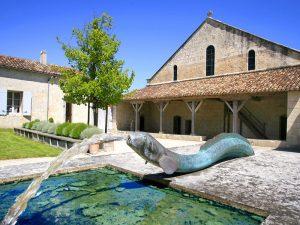 Pons - Jardin médicinal Hopital des pélerins