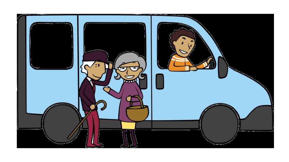 Pons Minibus pour les seniors