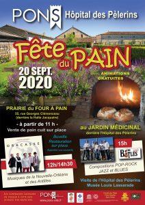 Pons - Fête du Pain - 20 septembre 2020