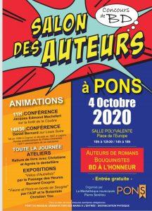 Pons - Salon des Auteurs - 4 octobre 2020