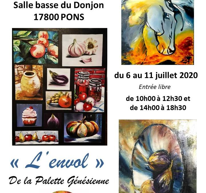 Les artistes s'exportent à Pons