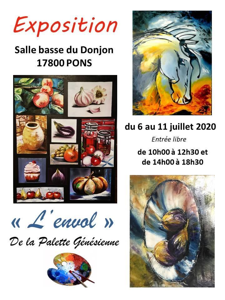 Pons Exposition Donjon - Palette génésienne