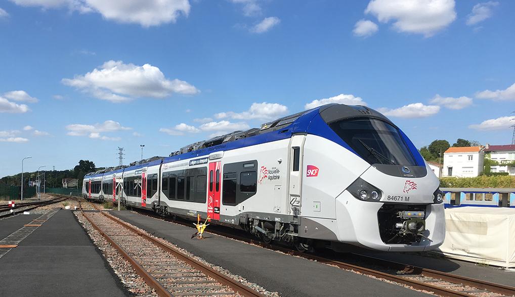Nouveau trajet TER La Rochelle-Pons