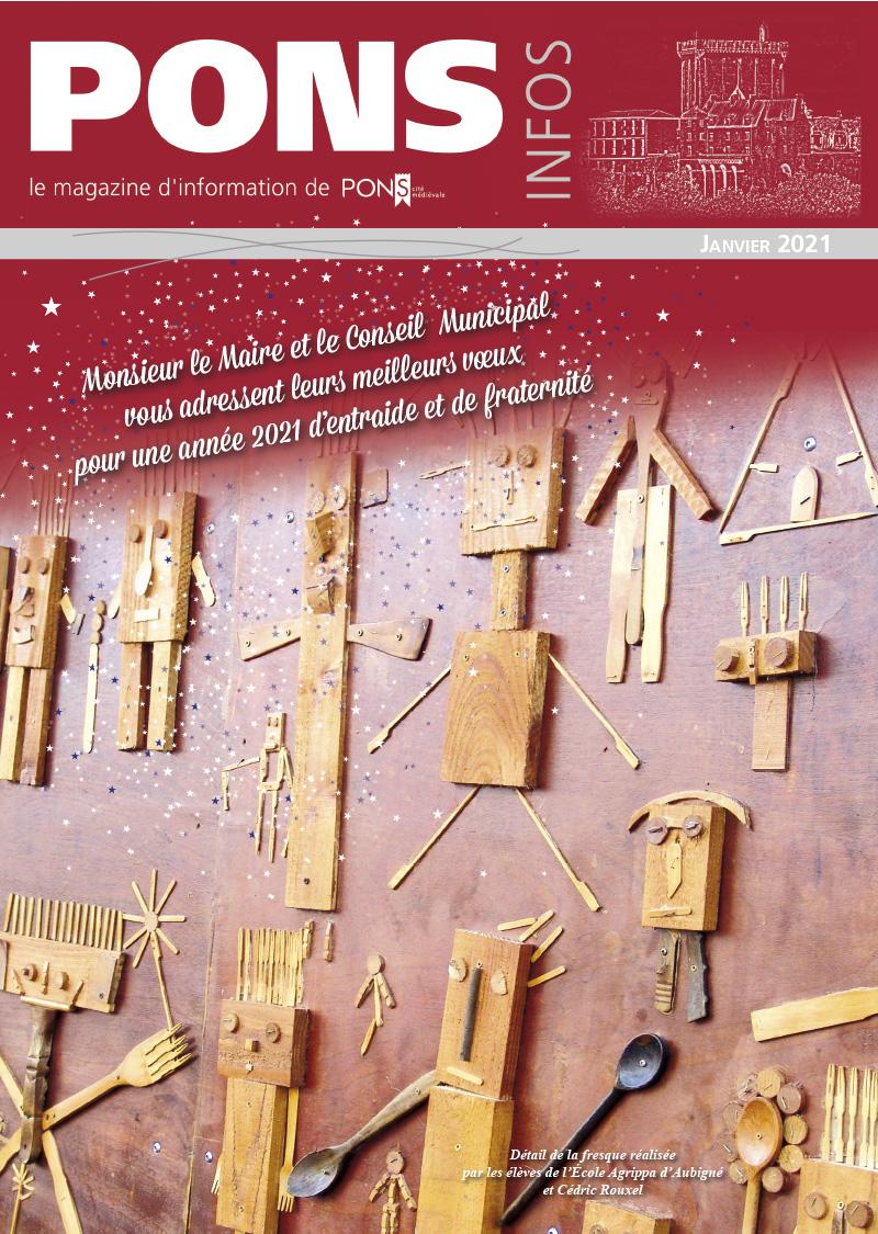 Magazine Pons Infos Janvier 2021
