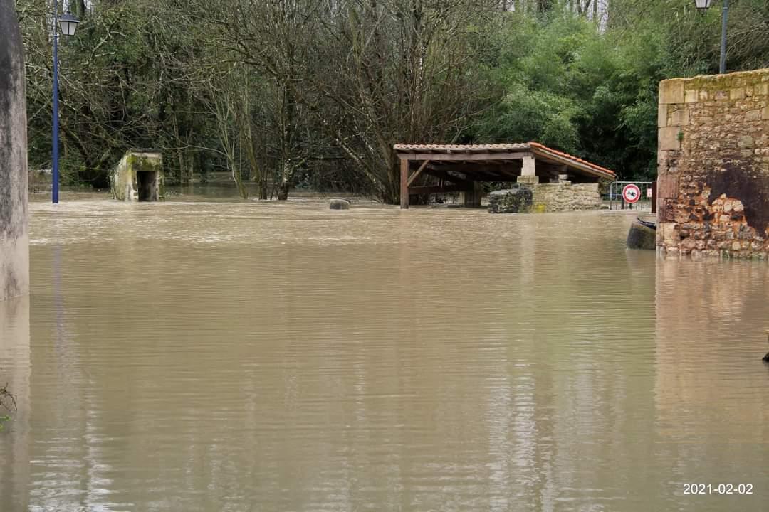 Pons inondations février 2021 Distillerie