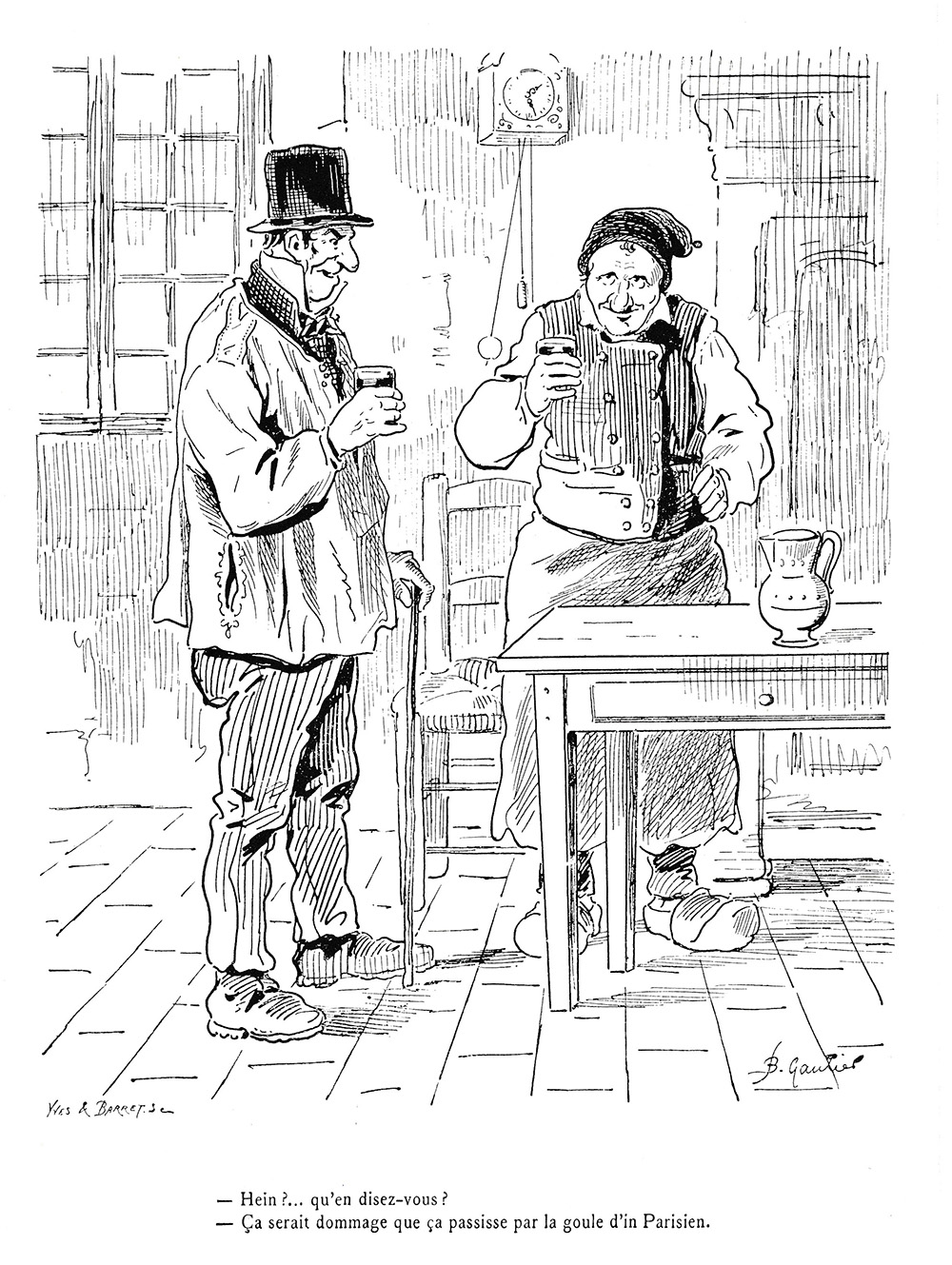 Pons - Un dessin de Barthélémy Gautier
