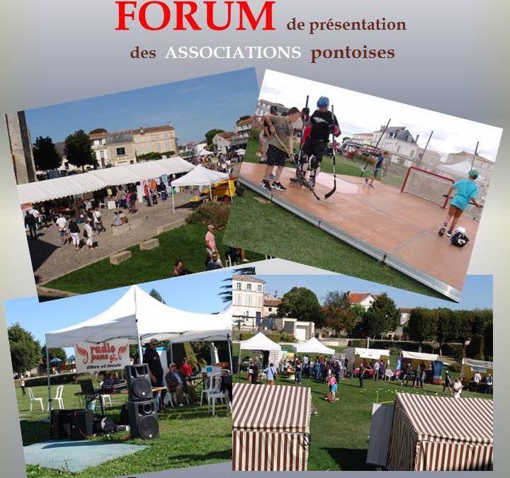 Forum des Associations le 5 septembre