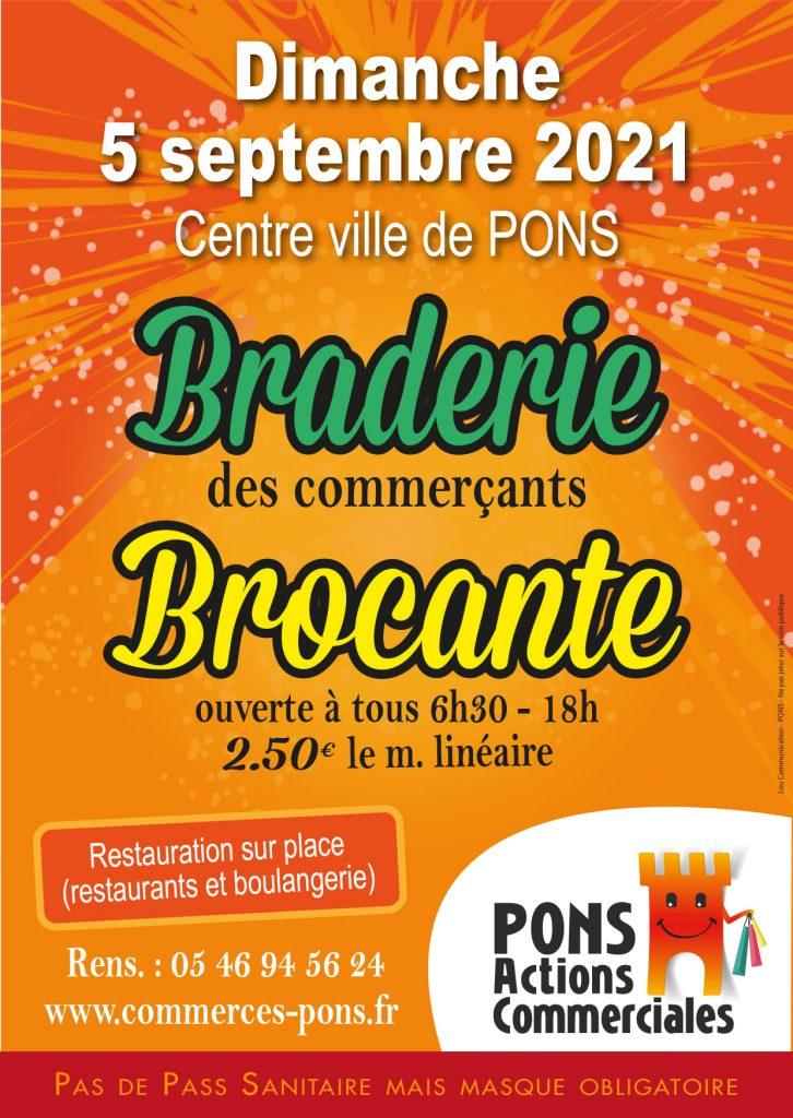 Braderie-Brocante-des-Commercants-Pons-Actions-Commerciales-5-septembre-2021