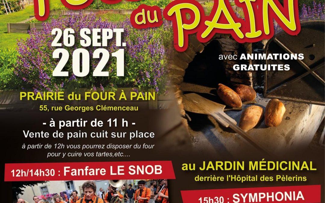 La Fête du Pain le 26 septembre
