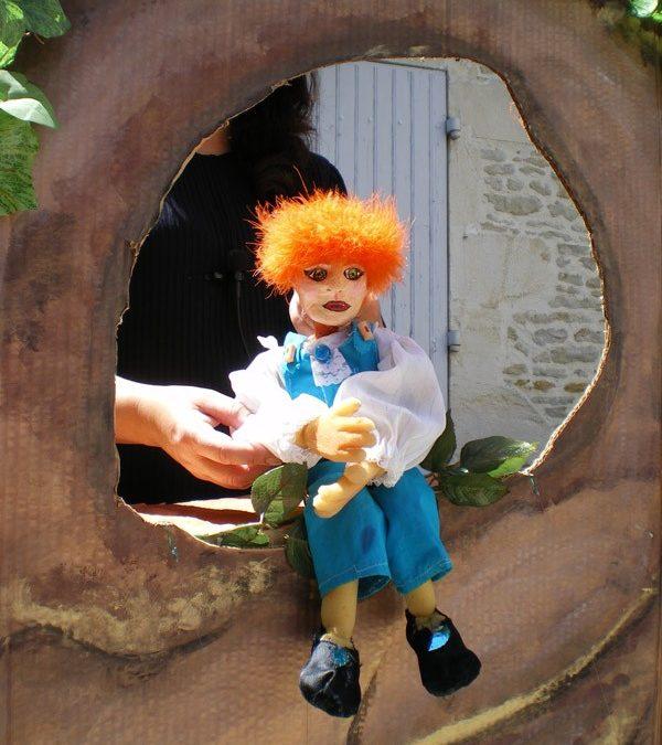 Des marionnettes dans le Jardin public